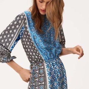"""LOFT NWT """"Ocean Mosaic"""" Tassel Dress, Bohemian 👗"""